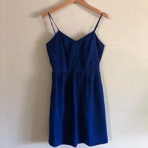 Royal Blue J Crew Dress